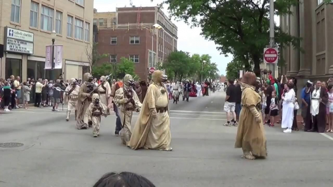 A Star Wars Day parade in Illinois.